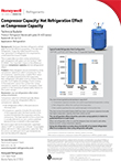 Compressor Capacity: Net Refrigeration Effect vs Compressor Capacity - Technical Bulletin