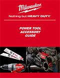 Milwaukee Power Tool Accessory Guide